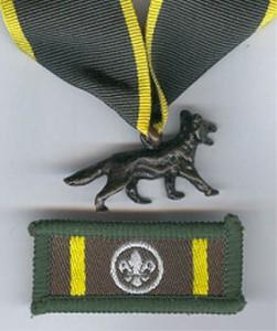 bronzen wolf