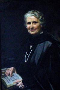 Maria Montessori op latere leeftijd